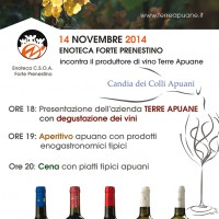 14NOV14 - Apuane ENoteca night