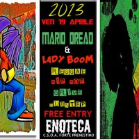 Mario Dread & Lady Boom in session @ Enoteca