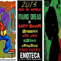 Mario Dread & Lady Boom in session @ Enoteca