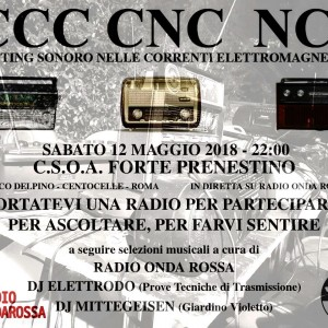 CCC CNC NCN Rafting Sonoro nelle correnti Elettromagnetiche