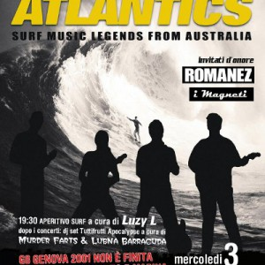 the atlantics live @ csoa forte prenestino