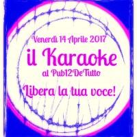 karaoche aprile 2017 pub
